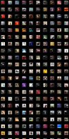 A Buttload of CD Album Covers by marvinj920