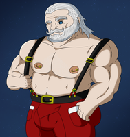 Mr. Claus by EstevenQuintero