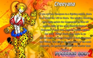 Warrior Bout 2 Profile - Cheeyana by CylnX