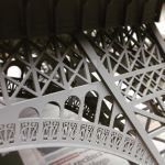 Scale Eiffel Tower - detail by audoman2607
