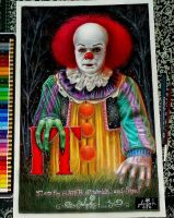 Pennywise IT by vampire-stars