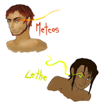 Meteos and Lethe by TuliothePillbug