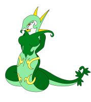 Medley the Serperior by TwisterTheHedgehog