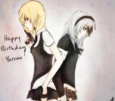 Happy Birthday Yarroww by Twilight--Hope