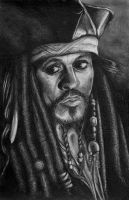 Captain Jack Sparrow by andytaylor756