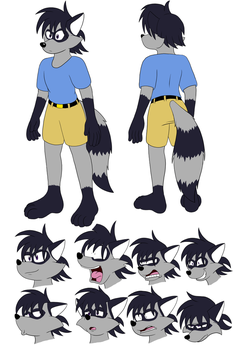 Roscoe Ref Commission by SorcererLance