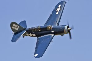 The Curtis SB2C-5 Helldiver by OpticaLLightspeed