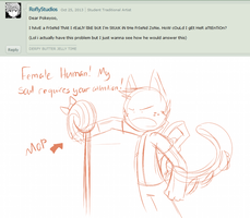 Ask the 'Devivs: Friend Zone'd by SmilehKitteh