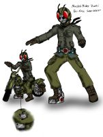 Kamen Rider World War II by FlamedramonX20