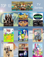 My Top 10 TV Series by nikkichic109