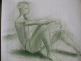 Figure Drawing 3 by MelissaKateN