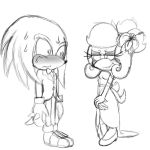You want to dance boy or what?::Knuxophie:: :WIP: by SophieTheYoshi