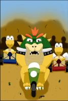 Bowser Kart Gang by opie69301