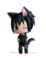 Sasuke Kitty by Urufei-Chopsticks