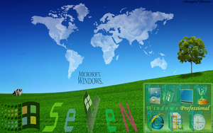 Windows 7 Desktop Theme 7 by SeraphSirius