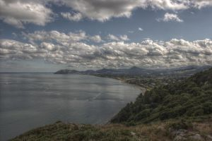 View from Killiney Hill Park by mrkane27
