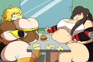 CM- Burger Eating Contest by SuperSpoe