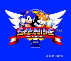 Sonic 2 (Mega-Drive) 8-bit styled titlescreen by OMGWEEGEE2