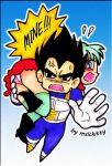 Vegeta Owns by mslckitty