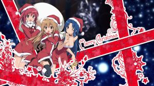 Toradora Christmas! : Wallpaper by B1itzsturm