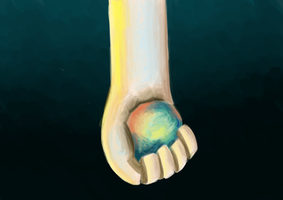 the gold hand by oridan2