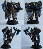 GW NMM Sanguinary Guard Model #4 by will-i-am119