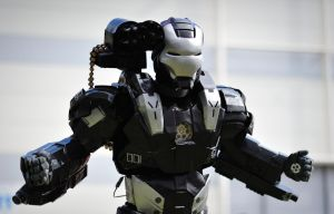 Warmachine cosplay by Sandman-AC