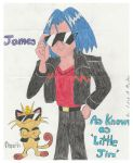 James A.K.A. Little Jim and Meowth by wackko200