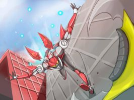 CR GREAT WAR STAGE 2: WALL SURFING!! by FlyingFish-Mat
