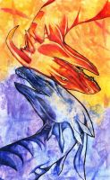 Fire and Ice by Kel-Del