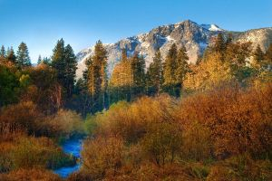 Mount Tallac Changing Colors by burnintree