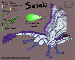 Reference: Dragon Sasaki by InfernoKat