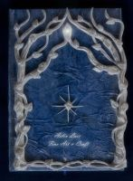 Silver trees elvish notebook by Gwillieth