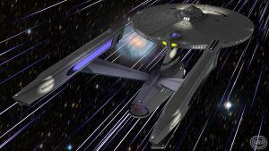Warp Factor Five WP by GlenRoberson
