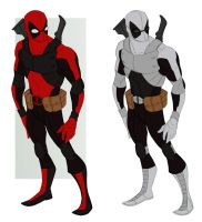 deadpool concept by samuraiblack