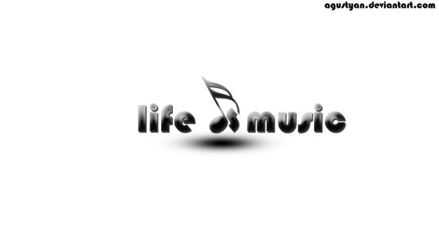 music is life by agustyan