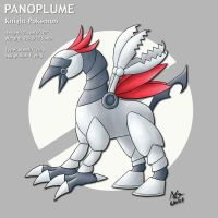 Fake pokemon: Panoplume by meleemonkey