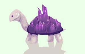 Day 6: Crystal Tortoise by StormWhiskers