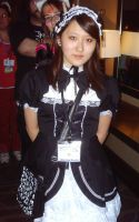 A Gothic Lolita by Cartoon-Eric