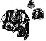 Space Marines in Contrast by feuer-faust