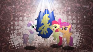 Shine! Cutie Mark Crusaders! by LuGiAdriel14