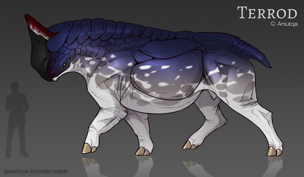 Terrod [species sheet] by AniutqaART