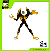 Lodestar-Ben 10 Alien Force by Bentenny10