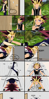 MMD Comic Yami gets stuck in a window by Eripmav-darkness