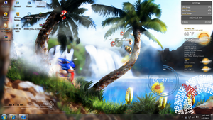 sonic rainmeter by SSGotenks650