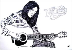 Neil Young 2 by JOrte