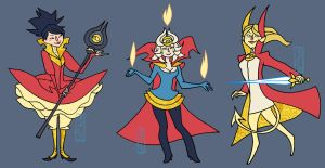 Sorceress Supremes by oxboxer