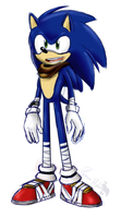 .: Sonic Boom Sketch : Sonic T Hedgehog :. by PhoenixSAlover