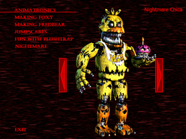 FnaF4 - Nightmare Chica by Kana-The-Drifter