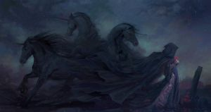 Behold, The Night Mare by Zephyri